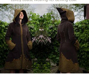 clothe, etsy, and forest wardrobe image