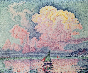 paul signac, art, and painting image