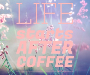 coffee, life, and easel image