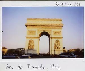 paris, arc de triomphe, and photography image