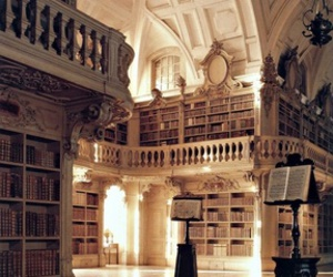 architecture, beautiful, and library image