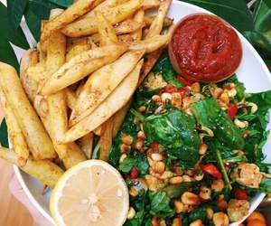 healthy, food, and salad image