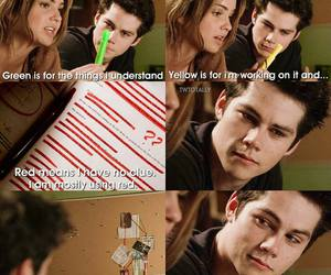 stiles stilinski and stalia image