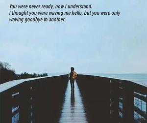 blue, goodbye, and heartbreak image