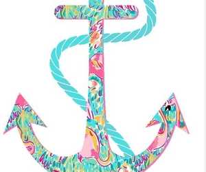 anchors, banner, and blue image