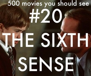 500 movies you should see and The Sixth Sense image