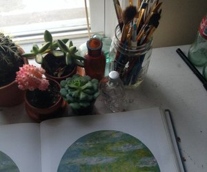 plants, green, and tumblr image