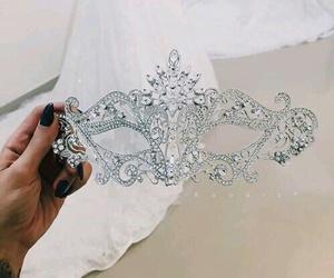 mask, diamond, and nails image