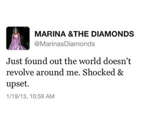marina and the diamonds, twitter, and marina image