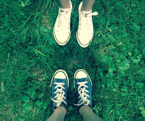 converse, copyright, and grass image