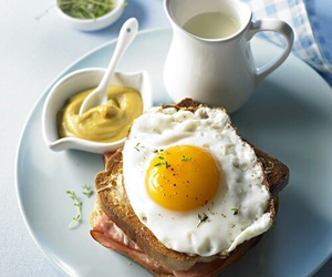 breakfast, eggs, and food image