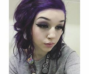 alt girl, purple, and alternative image