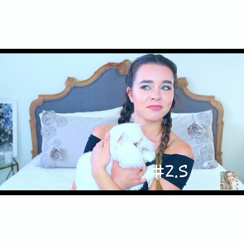 vlogger, sierra furtado, and internet famous image