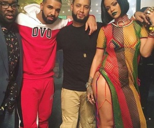 Drake, Queen, and riri image