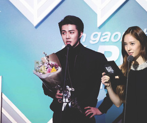exo, k-pop, and f(x) image
