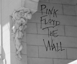 Pink Floyd, the wall, and black and white image