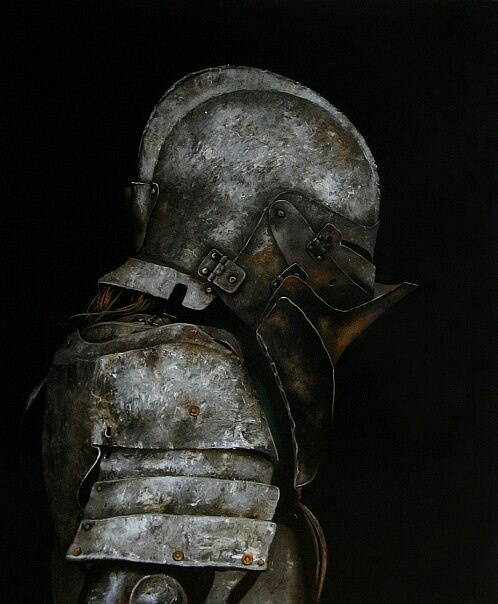 armor, rust, and knight image