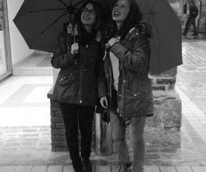 automn, b&w, and bff image