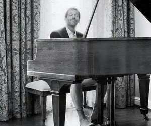 piano, hugh laurie, and house image