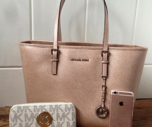 Michael Kors, pretty, and rose gold image