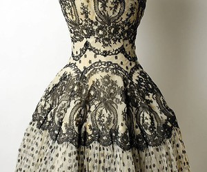 dress, vintage, and style image