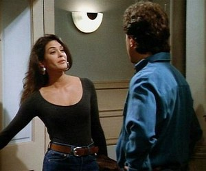 Teri Hatcher and jerry seinfeld image
