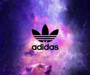 adidas, wallpaper, and galaxy image