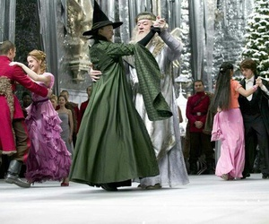 harry potter, hermione granger, and dance image