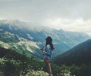 mountains, travel, and nature image