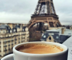 paris, coffee, and france image