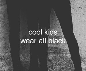 black, cool, and grunge image