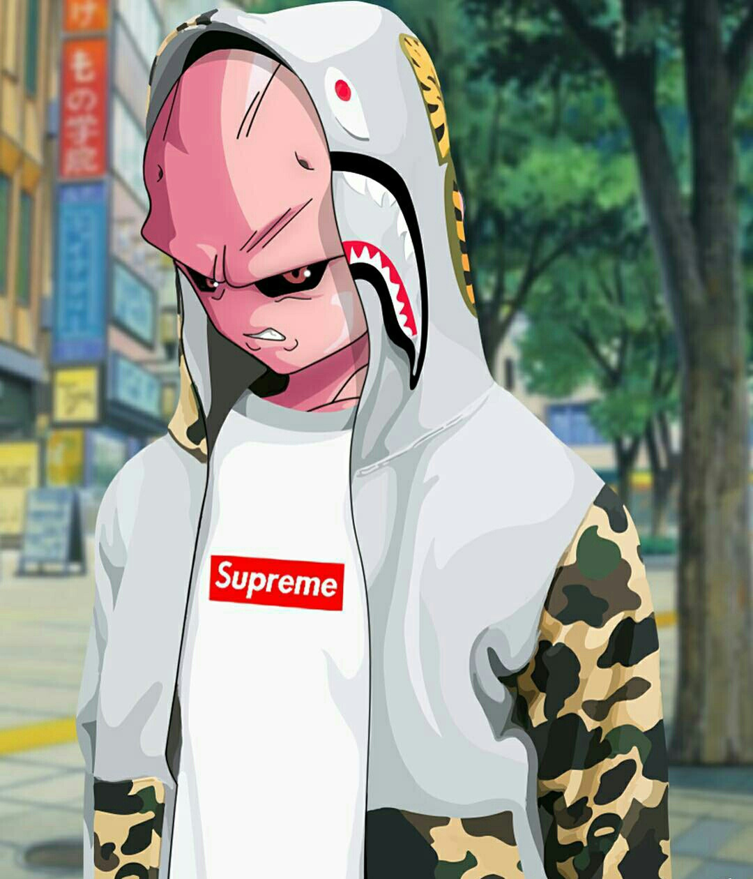 Buu X Bape X Supreme On We Heart It