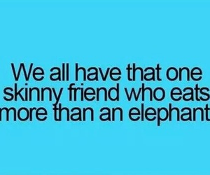 friends, funny, and skinny image