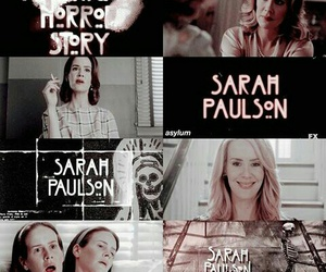 asylum, sally, and sarah paulson image