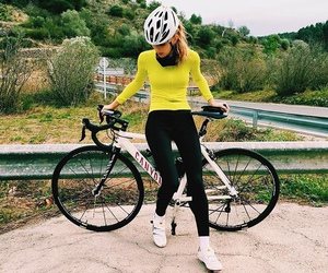 cycling, goals, and gym image