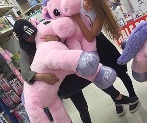 unicorn, pink, and friends image