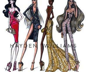 hayden williams, fashion illustration, and art image
