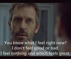 house, dr house, and feel image