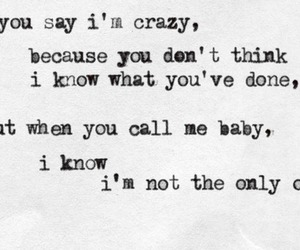 sam smith, crazy, and Lyrics image