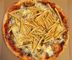 delicious, dinner, and fastfood image