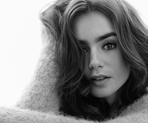 lily collins, actress, and collins image
