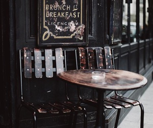 coffee shop, vintage, and brown aesthetic image