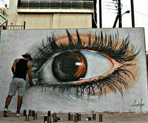 art, eye, and eyes image