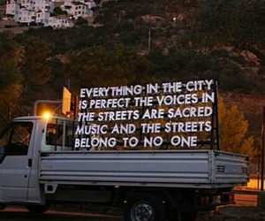 quotes, city, and music image