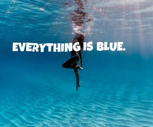 blues, colors, and halsey image
