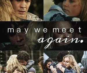 bellamy, clarke, and perfect love story image