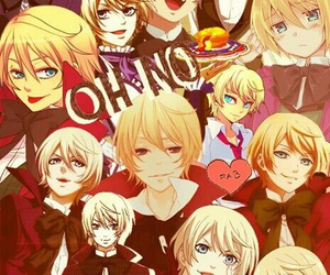 anime, black butler, and alois trancy image