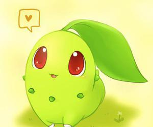 pokemon, cute, and chikorita image