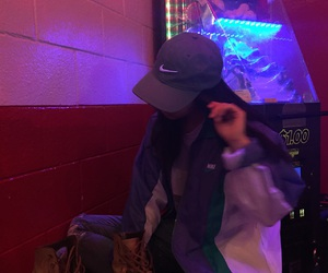 girl, nike, and aesthetic image