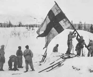 finland, winter war, and talvisota image